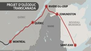 Le Conseil des Canadiens avance que le projet d'oléoduc Énergie Est de la grande pétrolière TransCanada pourrait mettre en danger l'eau potable et les cours d'eau qu'il traverserait.
